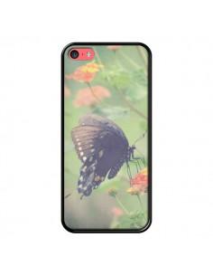 Coque Papillon Butterfly pour iPhone 5C - R Delean