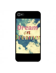 Coque Dream on Dreamer Rêves pour iPhone 4 et 4S - R Delean