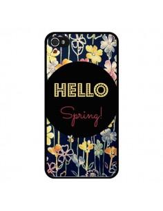 Coque Hello Spring pour iPhone 4 et 4S - R Delean