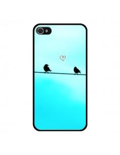 Coque Oiseaux Birds Amour Love pour iPhone 4 et 4S - R Delean