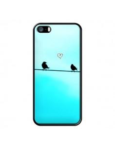 Coque Oiseaux Birds Amour Love pour iPhone 5 et 5S - R Delean