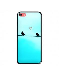 Coque Oiseaux Birds Amour Love pour iPhone 5C - R Delean