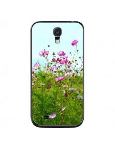 Coque Fleurs Roses Champ pour Samsung Galaxy S4 - R Delean