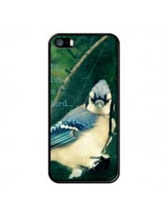 Coque I'd be a bird Oiseau pour iPhone 5 et 5S - R Delean