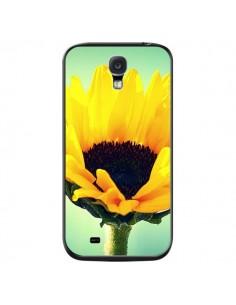 Coque Tournesol Zoom Fleur pour Samsung Galaxy S4 - R Delean