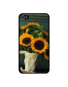 Coque Tournesol Bouquet Fleur pour iPhone 4 et 4S - R Delean
