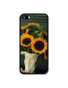 Coque Tournesol Bouquet Fleur pour iPhone 5 et 5S - R Delean