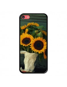 Coque Tournesol Bouquet Fleur pour iPhone 5C - R Delean