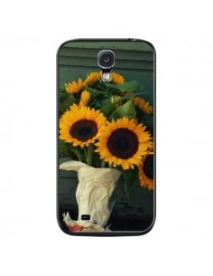 Coque Tournesol Bouquet Fleur pour Samsung Galaxy S4 - R Delean