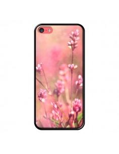 Coque Fleurs Bourgeons Roses pour iPhone 5C - R Delean