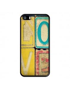 Coque Love Amour Jeu pour iPhone 5 et 5S - R Delean
