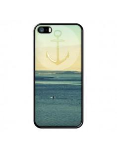 Coque Ancre Navire Bateau Summer Beach Plage pour iPhone 5 et 5S - R Delean
