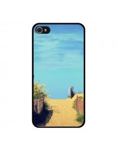 Coque Plage Beach Sand Sable pour iPhone 4 et 4S - R Delean