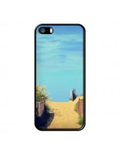 Coque Plage Beach Sand Sable pour iPhone 5 et 5S - R Delean