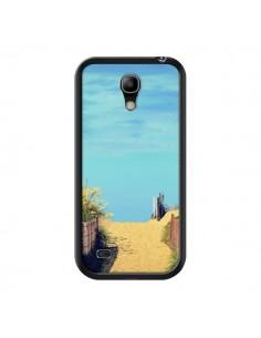 Coque Plage Beach Sand Sable pour Samsung Galaxy S4 Mini - R Delean