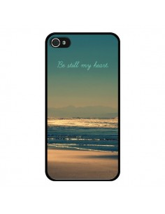 Coque Be still my heart Mer Sable Beach Ocean pour iPhone 4 et 4S - R Delean