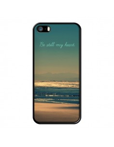 Coque Be still my heart Mer Sable Beach Ocean pour iPhone 5 et 5S - R Delean