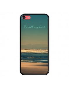 Coque Be still my heart Mer Sable Beach Ocean pour iPhone 5C - R Delean