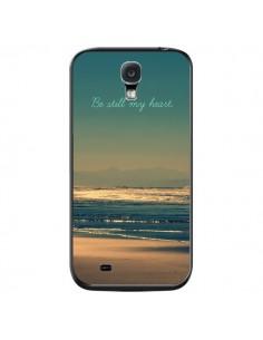 Coque Be still my heart Mer Sable Beach Ocean pour Samsung Galaxy S4 - R Delean