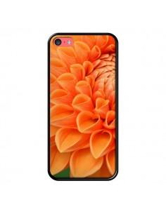 Coque Fleurs oranges flower pour iPhone 5C - R Delean