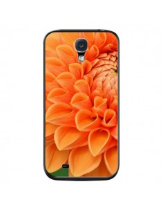 Coque Fleurs oranges flower pour Samsung Galaxy S4 - R Delean