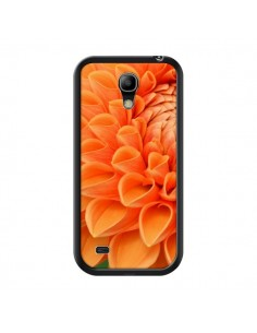 Coque Fleurs oranges flower pour Samsung Galaxy S4 Mini - R Delean