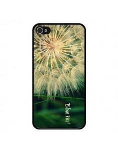 Coque Pissenlit Souffle pour iPhone 4 et 4S - R Delean