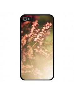 Coque Fleurs Flowers pour iPhone 4 et 4S - R Delean