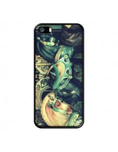 Coque Manege Enfant Carrousel Chevaux pour iPhone 5 et 5S - R Delean