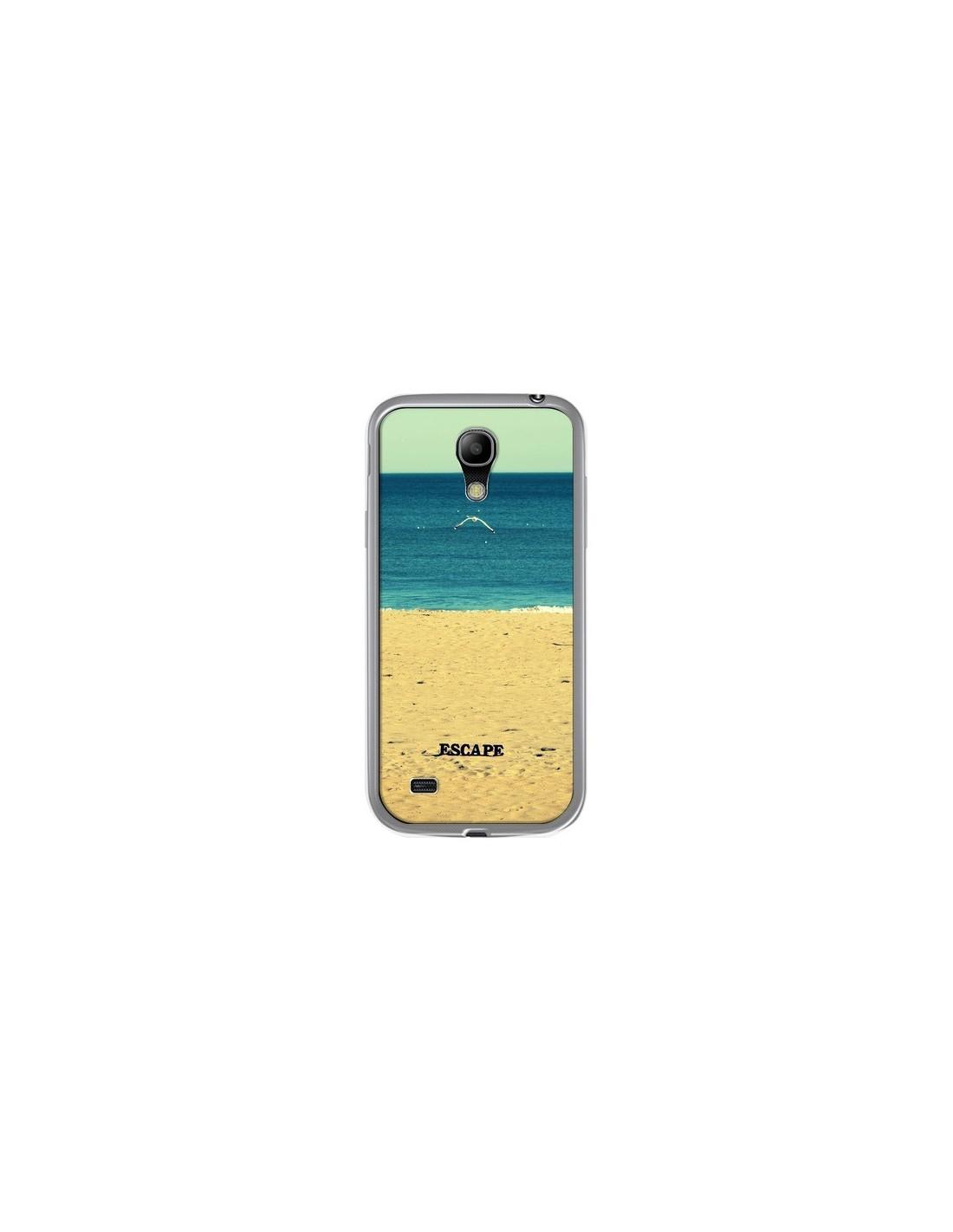 coque escape mer plage ocean sable paysage pour samsung galaxy s4 mini r delean. Black Bedroom Furniture Sets. Home Design Ideas