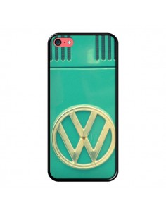 Coque Groovy Van Hippie VW Bleu pour iPhone 5C - R Delean