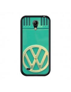Coque Groovy Van Hippie VW Bleu pour Samsung Galaxy S4 Mini - R Delean