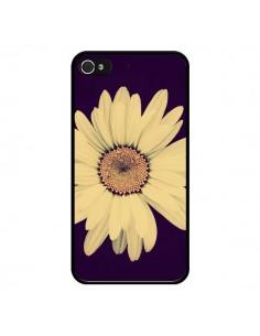 Coque Marguerite Fleur Flower pour iPhone 4 et 4S - R Delean