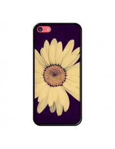 Coque Marguerite Fleur Flower pour iPhone 5C - R Delean
