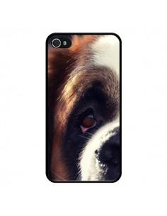 Coque Saint Bernard Chien Dog pour iPhone 4 et 4S - R Delean