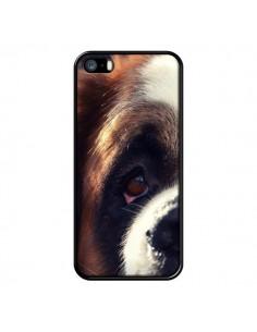 Coque Saint Bernard Chien Dog pour iPhone 5 et 5S - R Delean