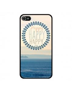 Coque Happy Day Mer Ocean Sable Plage Paysage pour iPhone 4 et 4S - R Delean