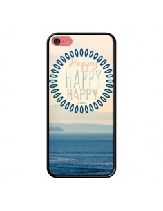 Coque Happy Day Mer Ocean Sable Plage Paysage pour iPhone 5C - R Delean