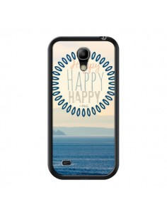 Coque Happy Day Mer Ocean Sable Plage Paysage pour Samsung Galaxy S4 Mini - R Delean