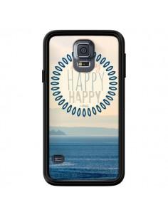 Coque Happy Day Mer Ocean Sable Plage Paysage pour Samsung Galaxy S5 - R Delean