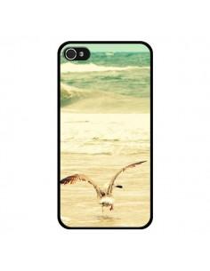 Coque Mouette Mer Ocean Sable Plage Paysage pour iPhone 4 et 4S - R Delean