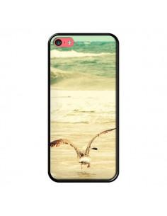 Coque Mouette Mer Ocean Sable Plage Paysage pour iPhone 5C - R Delean
