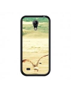 Coque Mouette Mer Ocean Sable Plage Paysage pour Samsung Galaxy S4 Mini - R Delean