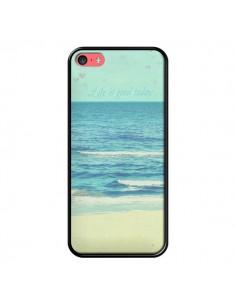 Coque Life good day Mer Ocean Sable Plage Paysage pour iPhone 5C - R Delean