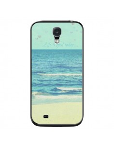 Coque Life good day Mer Ocean Sable Plage Paysage pour Samsung Galaxy S4 - R Delean