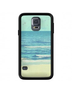 Coque Life good day Mer Ocean Sable Plage Paysage pour Samsung Galaxy S5 - R Delean