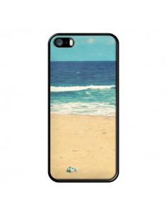 Coque Mer Ocean Sable Plage Paysage pour iPhone 5 et 5S - R Delean
