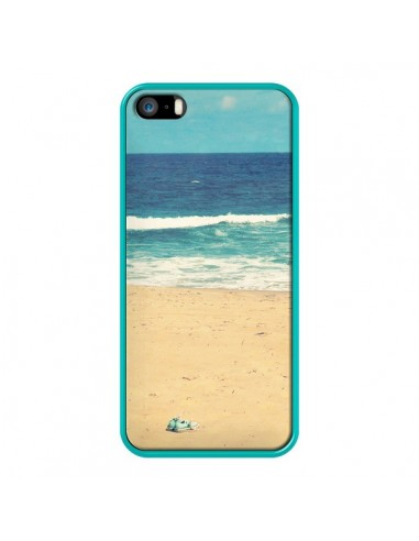 coque iphone 5 5s se mer ocean sable plage paysage rdelean