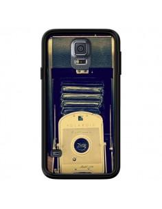 Coque Appareil Photo Vintage Polaroid Boite pour Samsung Galaxy S5 - R Delean