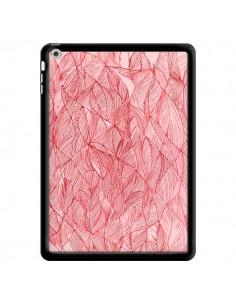 Coque Courbes Meandre Rouge Cerise pour iPad Air - Elsa Lambinet